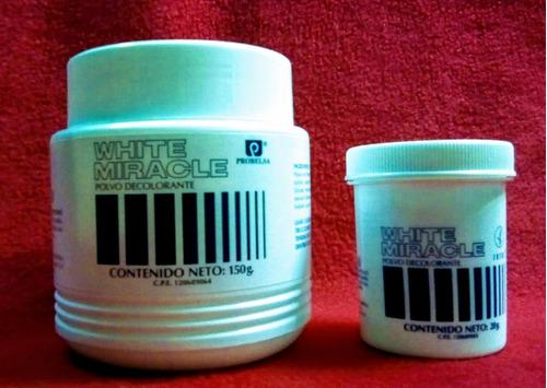 polvo decolorante white miracle zotos 280g - tienda física