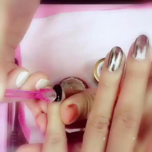 polvo luminaura  6 colores uñas acrilicas gelish env gratis