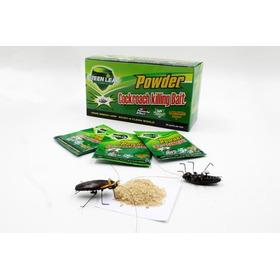 Polvo Mata Cucarachas Y Chiripas Green Leaf Original 3 Unds