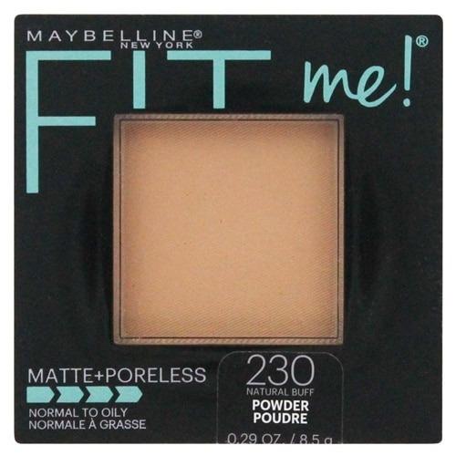 polvo maybelline fit me matte+poreless original 230 natural