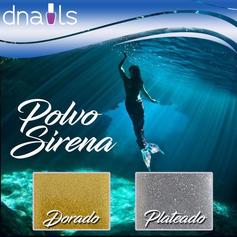 Polvo Mermaid Efecto Sirena Nail Art Decoración Uñas - Bs. 569.000 ...
