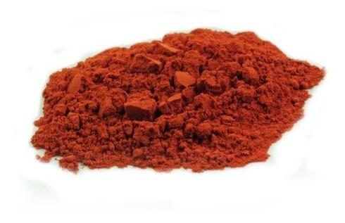 polvo mineral rojo fino 500gr oit ue(100)