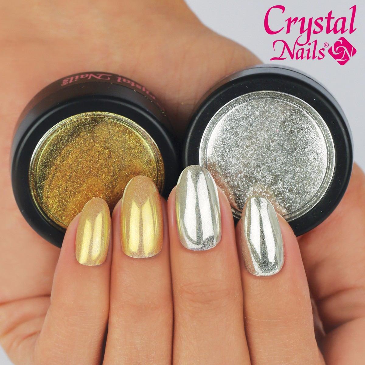 Polvo Para Uñas Efecto Espejo - 2 Gramos - Glitters Diy Nail ...