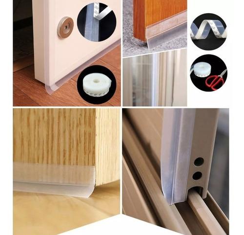 polvo puerta guarda polvo
