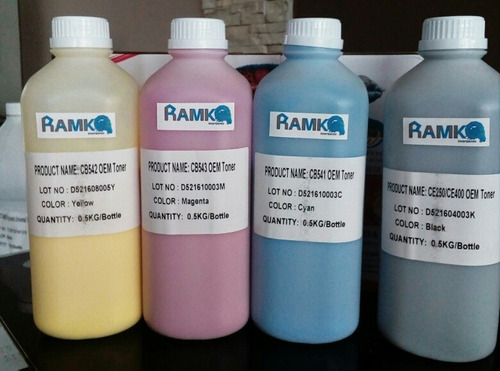 polvo toner para recarga hp color series 540/530/310/x 500gr