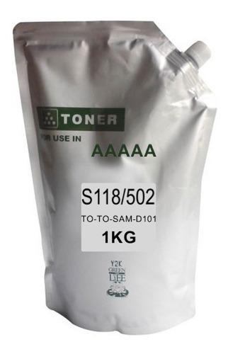 polvo toner para samsung de 1kg
