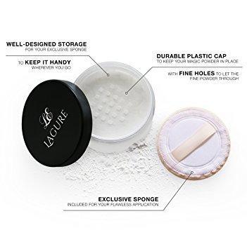polvo translúcido - mejor ajuste loose powder foundation y