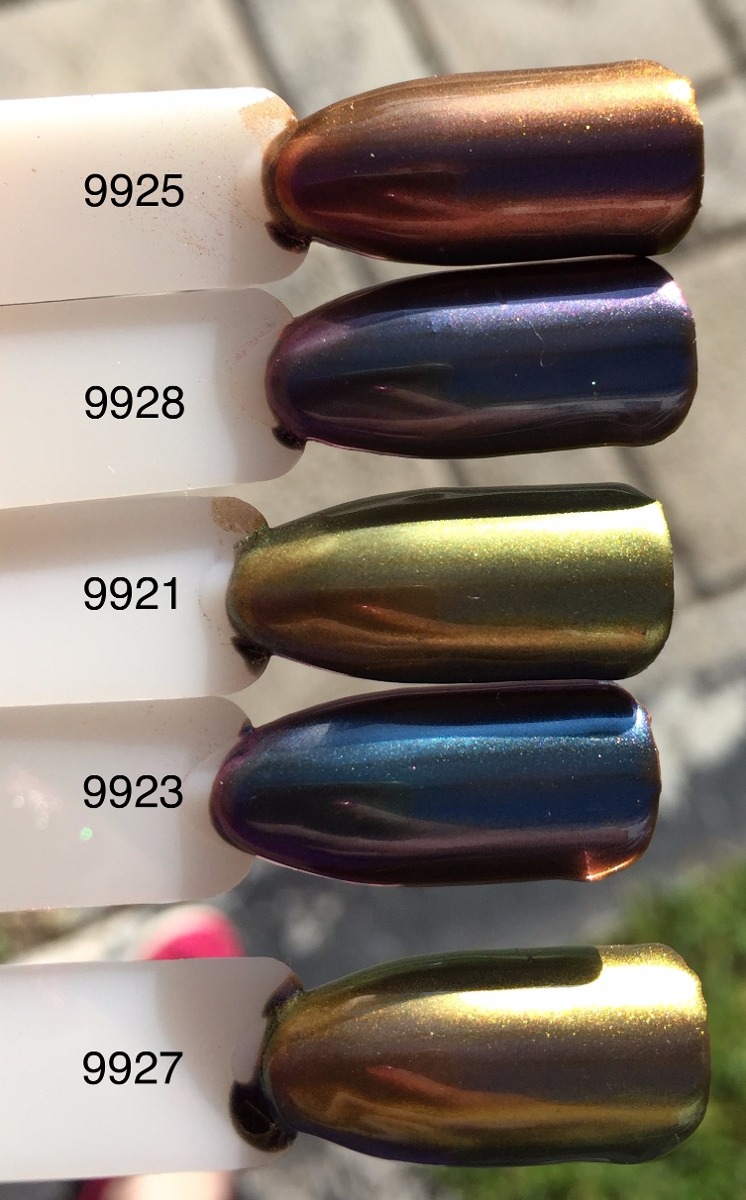 Polvo Uñas Efecto Espejo Plata Esmalte De Gel Gelish - $ 75.00 en ...