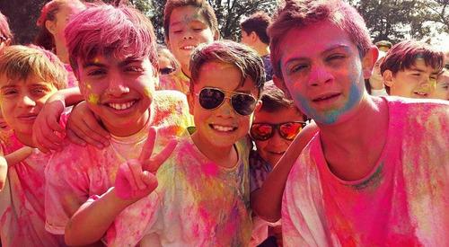 polvos de colores para eventos