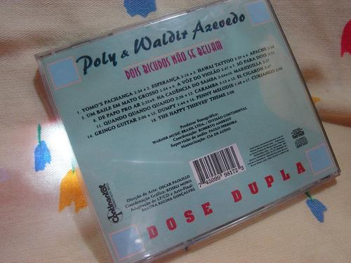 poly e waldir azevedo cd dose dupla remasterizado instrument