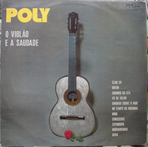 poly violão saudade lp musicolor 1971