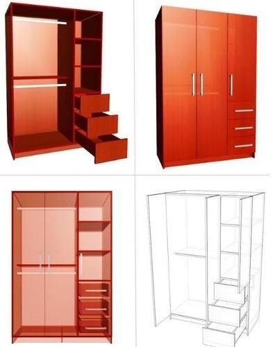polyboard 4 para crear y desglosar muebles: cocina y closet