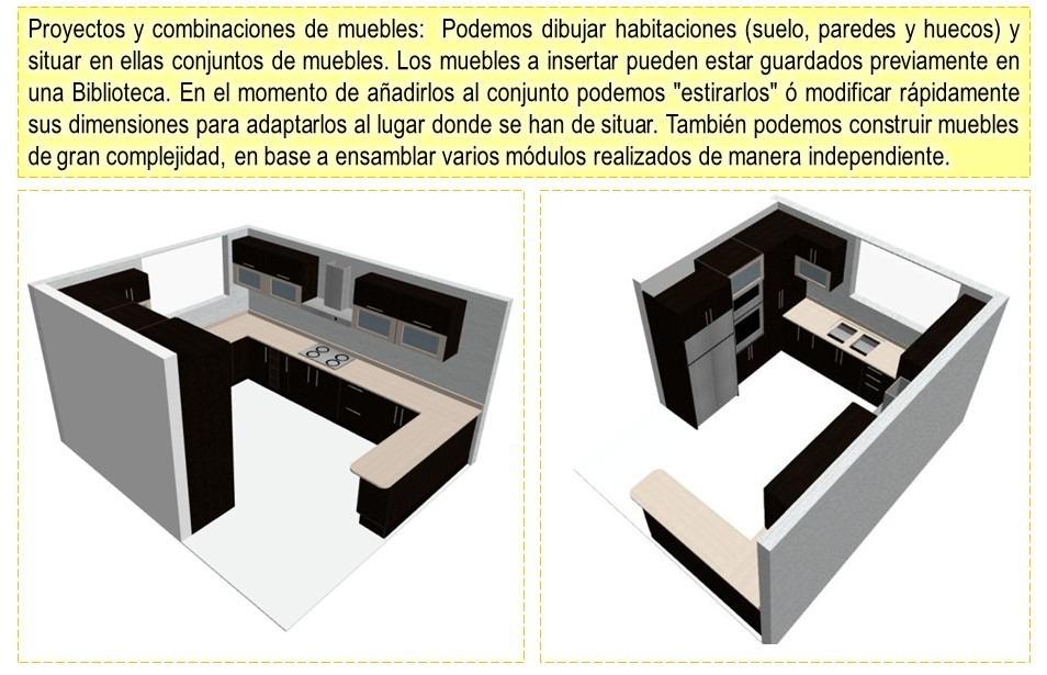 Polyboard 5 para crear y desglosar muebles cocina y for Programas para hacer cocinas en 3d