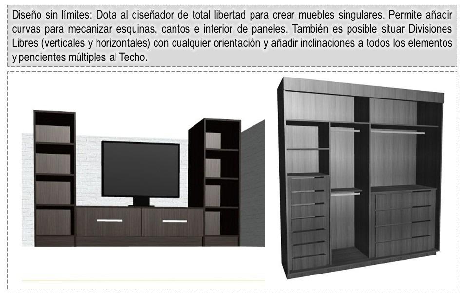 Polyboard 5 para crear y desglosar muebles cocina y - Programa cocinas ikea ...
