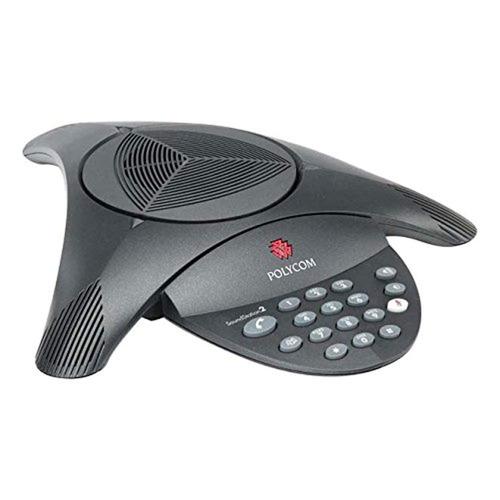polycom soundstation 2 con fuente de alimentación