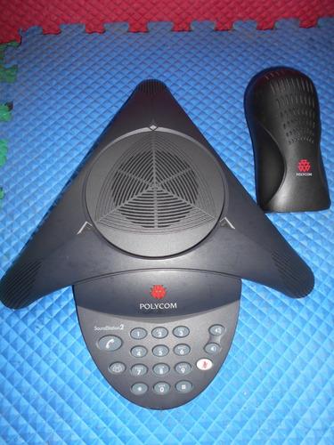 polycom soundstation 2 para llamadas en conferencia