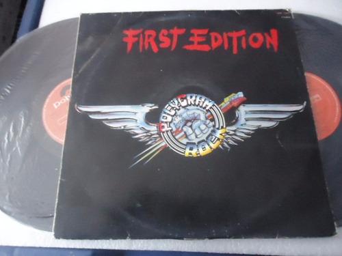 polygram rock first edition vinyl lp acetato