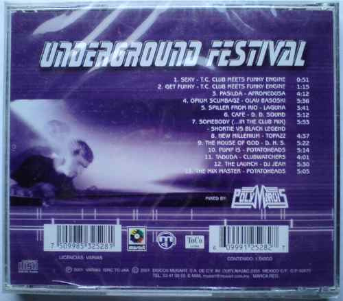 polymarchs underground festival + cd polymarchs vol. 8