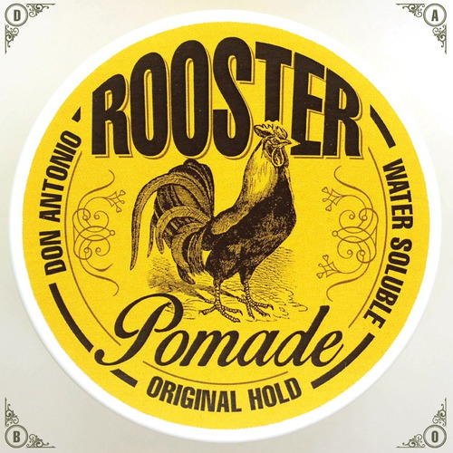 pomada cabello / rooster pomade original / water soluble