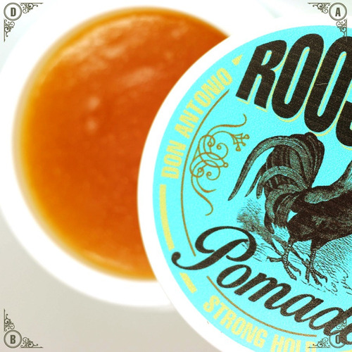 pomada cabello / rooster pomade strong / water soluble