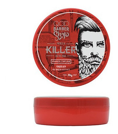pomada capilar killer qod barber shop 70g