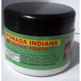 Pomada Indiana Extra Forte AnaLGésico Natural - 3 Potes