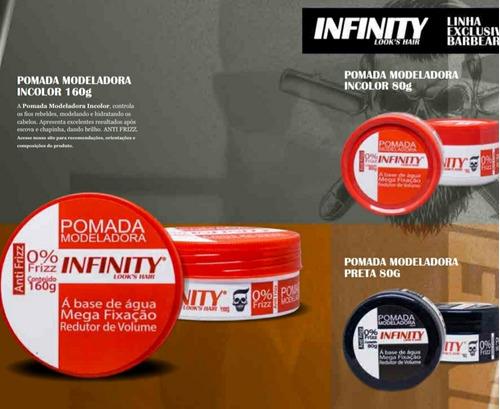 pomada modeladora infinity looks hair 160gr