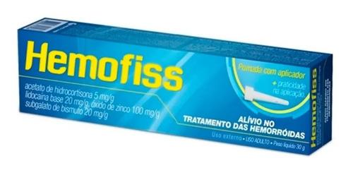 pomada para hemorroida hemofiss 30g - igual proctan