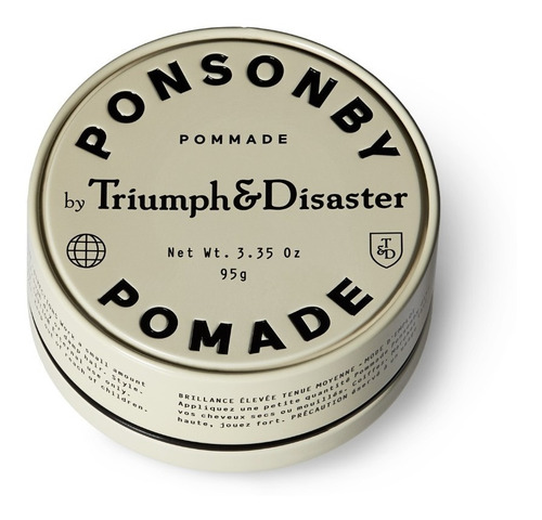 pomada para pelo triumph and disaster