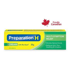 Pomada Preparation H 25g ( Com Bio-dyne® ) Cream Canada