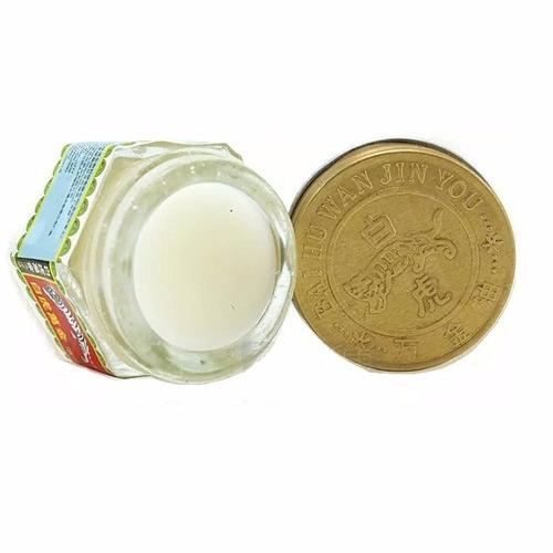 pomada tiger balm white + brinde - pronta entrega!