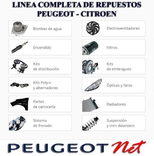 pomo palanca + buje suplemento original peugeot 207 compact