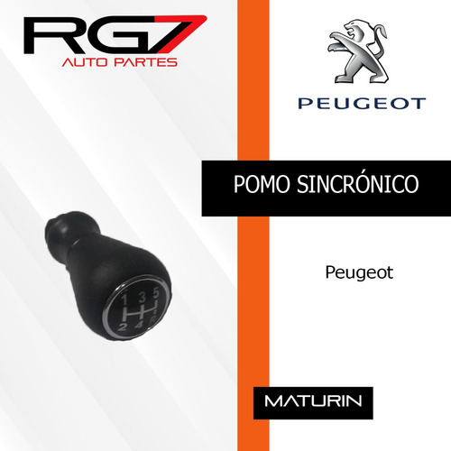 pomo sincronico peugeot 206 207 307 408 partner