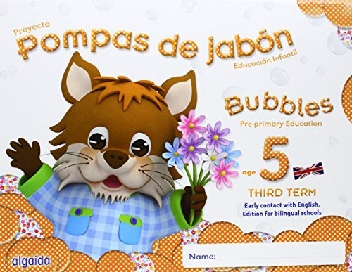 pompas de jabón. bubbles age 5. pre-primary edu envío gratis