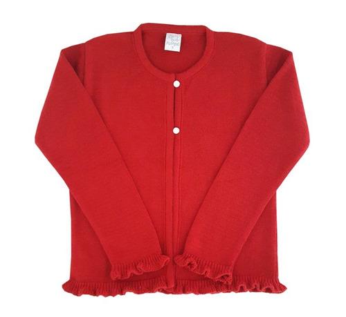 pompas - sweaters para chicos / niño - saco con volados