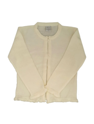 pompas - sweaters para chicos / niños - cárdigan con volados