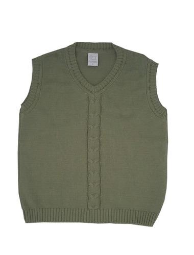 pompas - sweaters para chicos / niños - chaleco