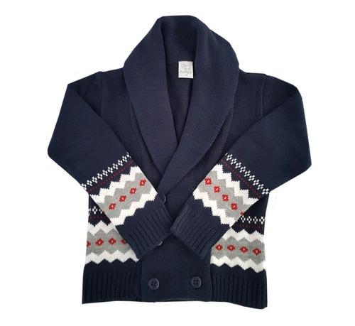 pompas - sweaters para chicos / niños - saco con guarda