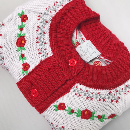 pompas - sweaters para chicos / niños - saco rococó