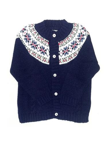pompas - sweaters para chicos / niños - saquito con guarda
