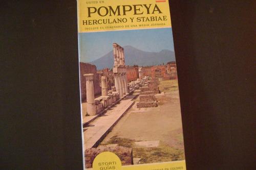 pompeya, herculano y stabiae