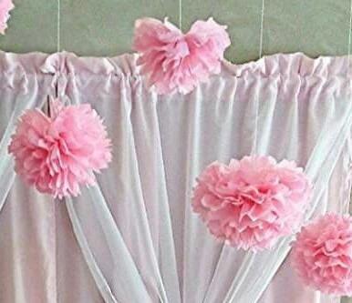 pompom decoração 40 cm