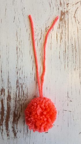 pompones de lana varios colores 4,5 cm x10 - souvenirs-