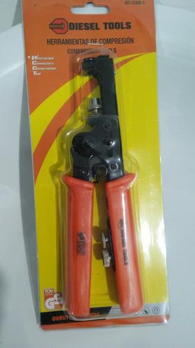 ponchadora cable coaxial cable parabolica