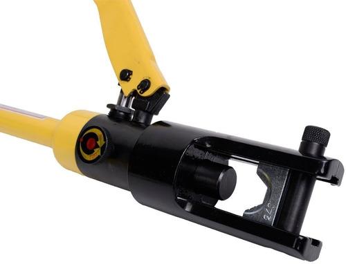 ponchadora de  terminales hidraulica cable trabajo pesado