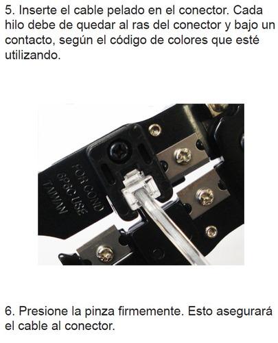 ponchadora metálica para rj45 original steren envio gratis