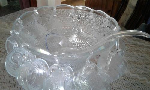 ponchera de vidrio x 27 unidades