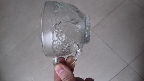ponchera vidrio 27 piezas, 12 personas, made in indonesia