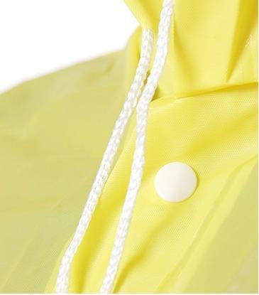 poncho dama rompevientos lluvia reforzado botones largo