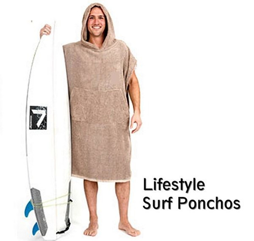 poncho de surf 100% algodão atoalhado promoção + brindes